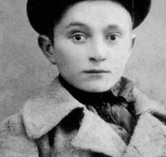 Георгий (Шота) Дзидзария – ученик Сухумской абхазской школы-интернат, Сухум, 1931 год