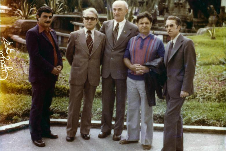 А. Отырба, Г. Дзидзария, Ф_Искандер, 1977год