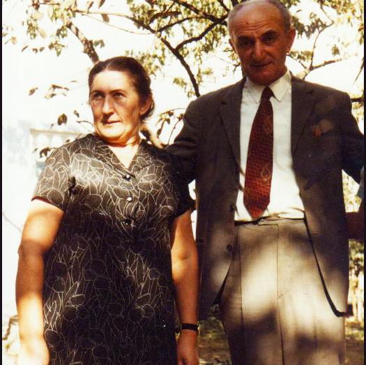Georgy Dzidzaria and Olga Geria