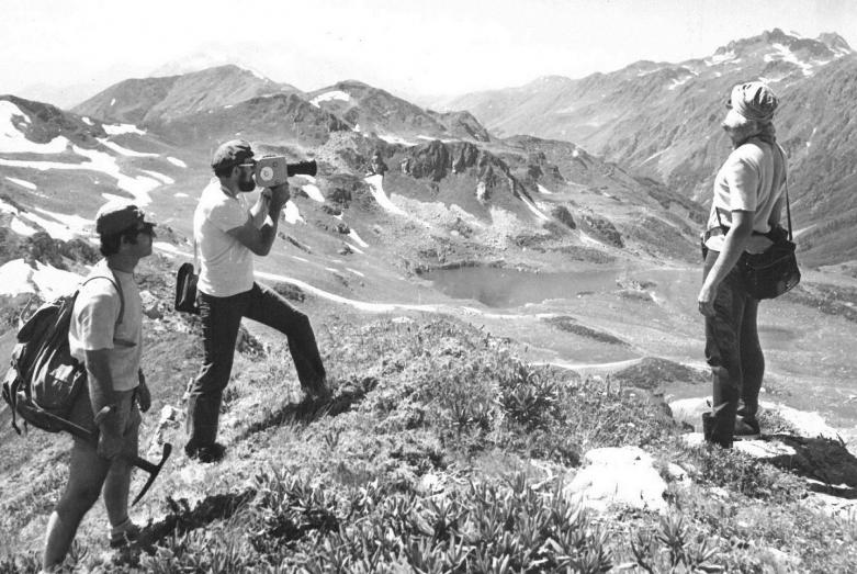 Юрий Воронов в горах