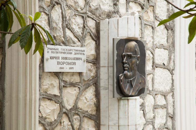Могила Юрия Воронова, Сухум
