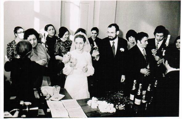 Свадьба Юрия Воронова и Светланы Хочолава