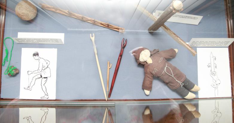 Абхазские и абазинские народные игрушки представили в Сухуме