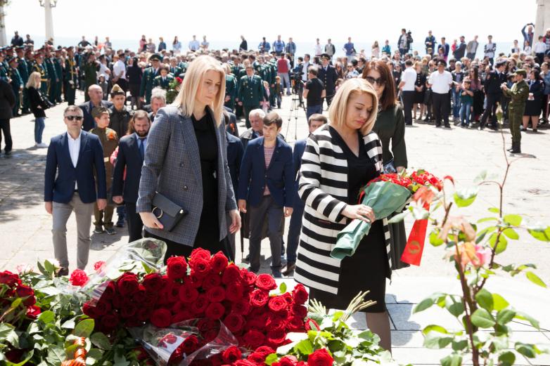 День Победы в Великой Отечественной войне отметили в Сухуме