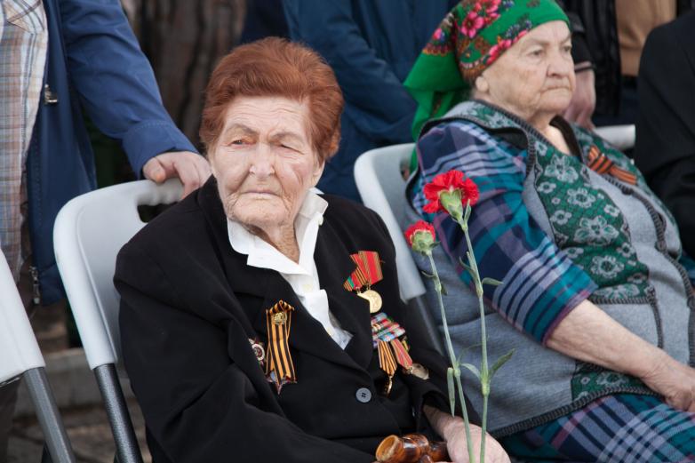 Ветеран ВОВ Валентина Шульгина