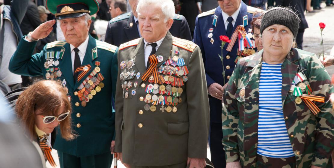 Память погибших в ВОВ почтили Главные герои этого дня – ветераны Великой Отечественной войны