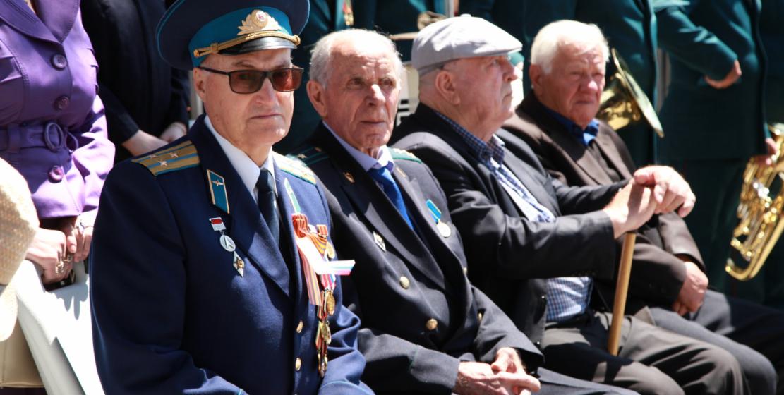 На фото: ветераны Великой Отечественной войны