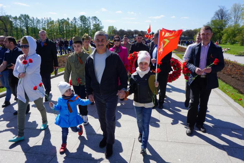 ВААК принял участие в праздновании Дня Победы в Санкт-Петербурге