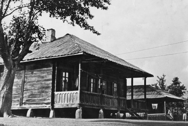 Дом в селе Члоу, где родился Баграт Шинкуба, постройка 1900 года