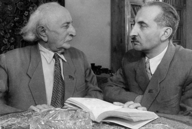 Дмитрий Гулиа и Баграт Шинкуба, 1950-е годы