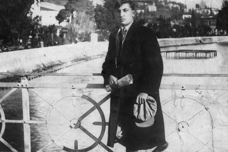 Баграту Шинкуба  20 лет, студент Сухумского пединститута, имени Максима Горького, 1937 год