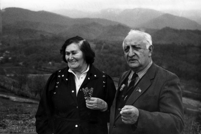 Баграт Шинкуба с супругой Тамарой Маршан