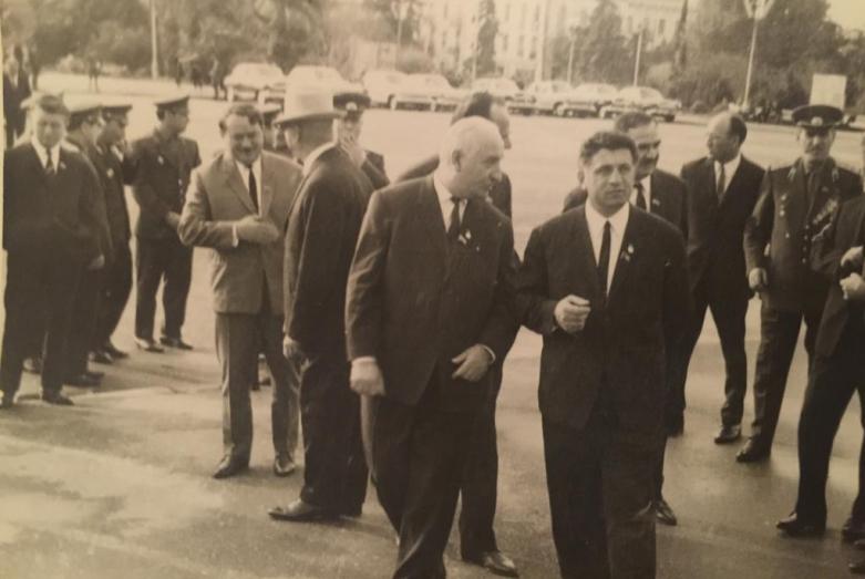 Баграт Шинкуба и Валериан Кобахия