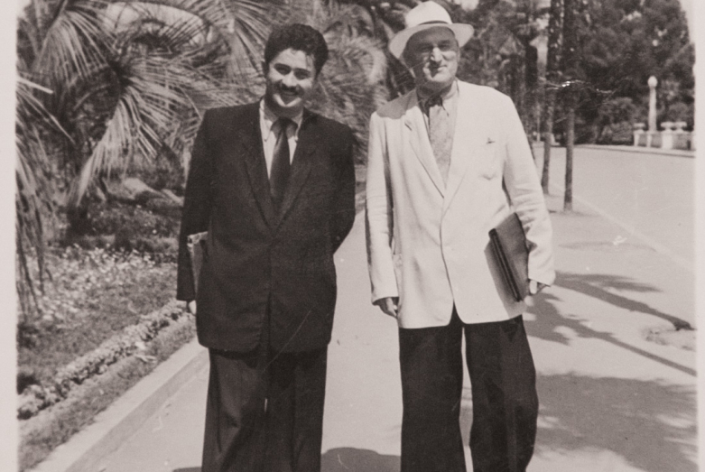 تساربي بجانيا و كونستانتين شاكريل، سوخوم، أواخر الخمسينيات