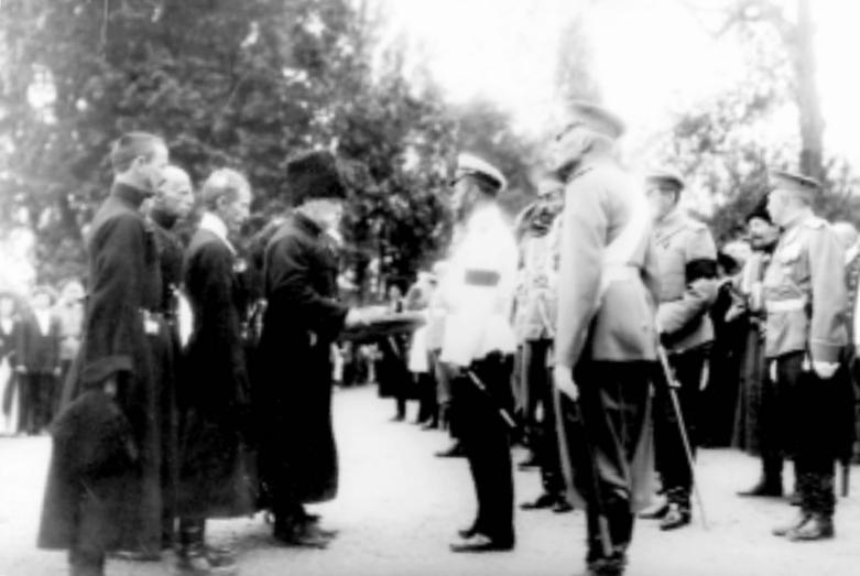 Встреча Николая II