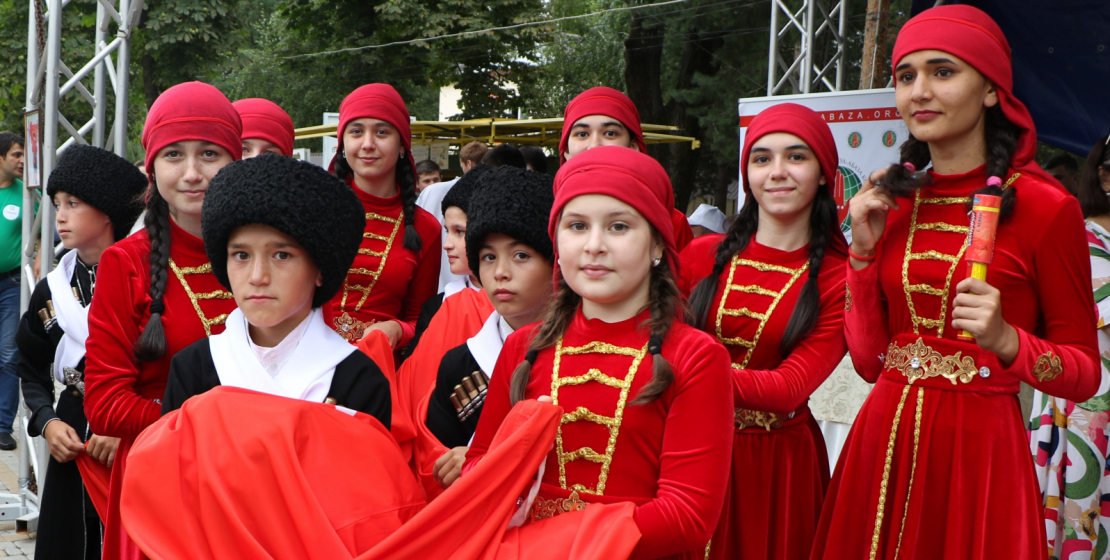 Local national artistic and choreographic ensembles took part in the celebrations.