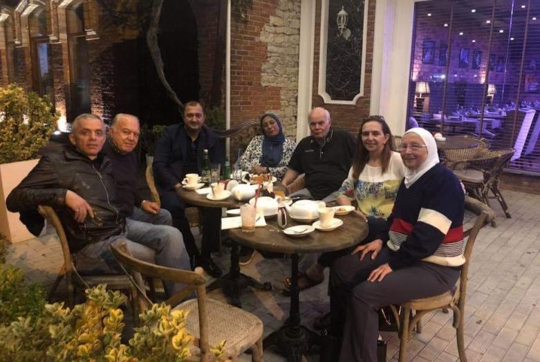 Рауф Абаза (Маан) во время визита в Абхазию в ноябре 2018 года