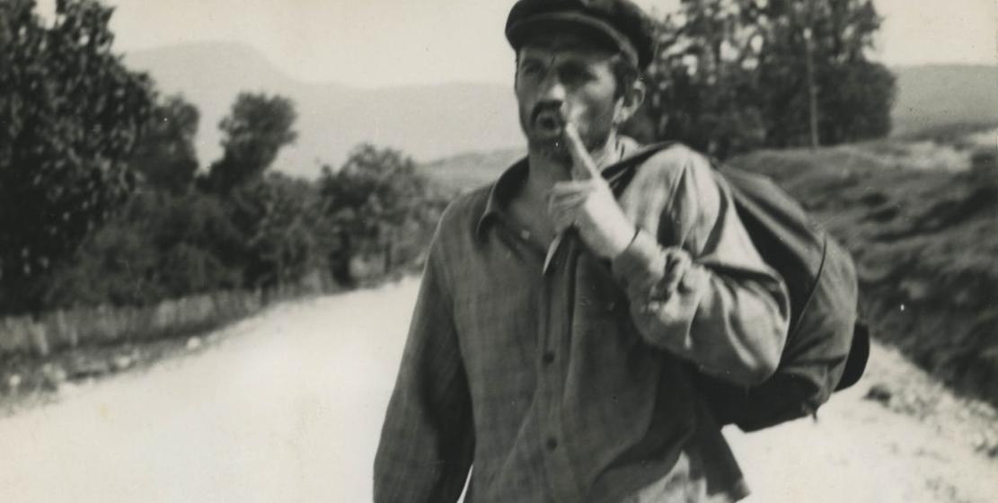 Нурбей Камкиа в фильме «Время счастливых находок» режиссера Генриха Габай, 1969 год