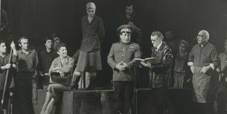 Спектакль «Возрождение» по пьесе Леонида Брежнева в постановке Виктора Терентьева, 1970-е годы