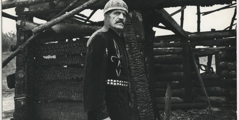 Нурбей Камкиа в фильме «Пока есть время» режиссер Борис Шиленко, 1987 год