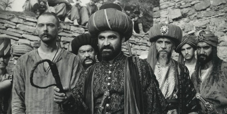 Нурбеи Камкиа в фильме «Яса» режиссера Бориса Шиленко, 1988 год