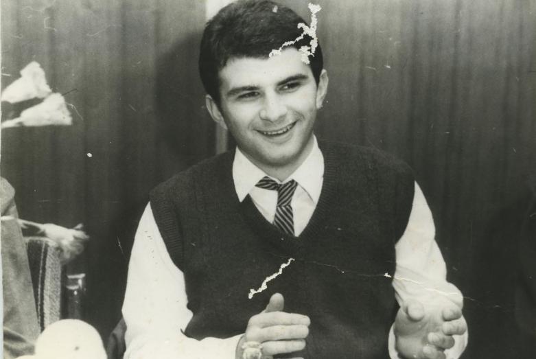 Аслан Камкиа, студенческие годы