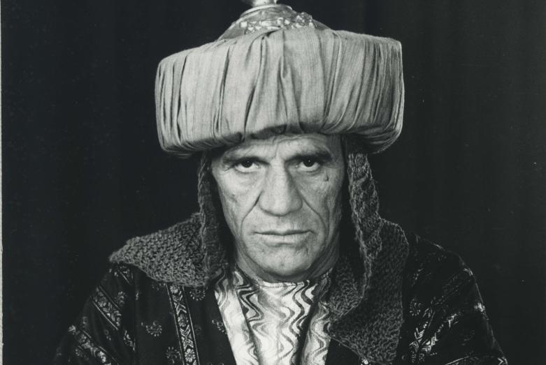 Нурбей Камкиа в фильме «Яса» режиссера Бориса Шиленко, 1988 год