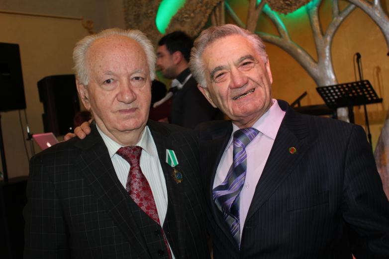 Юрий Исуфович Агирбов и Тарас Миронович Шамба