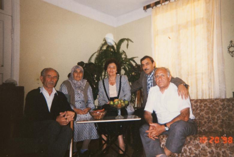 На встрече с абхазской семьей в Турции Лилиана Яковлева, Гиви Допуа, Владимир Авидзба