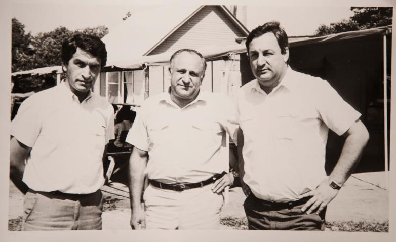 Vladislav Ardzınba, Vladimir Ayüzba, Sergey Bagapş, arkeolojik bulguların incelenmesi, Tamş, 1976-1977 yazı