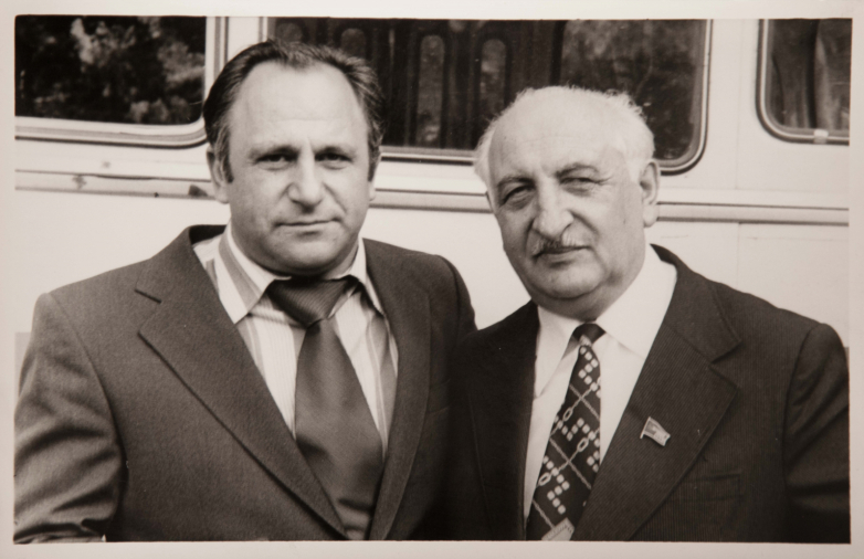 Vladimir Avidzba and Bagrat Shinkuba