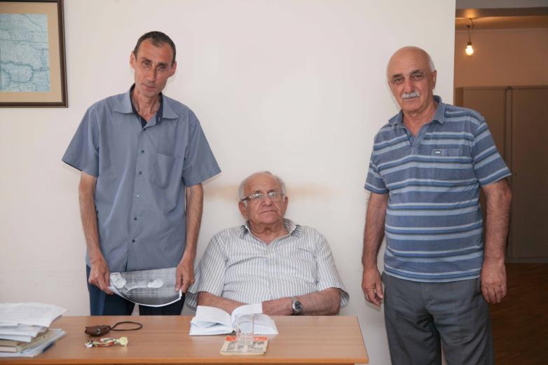 Аслан Авидзба, Владимир Авидзба, Виталий Чамагуа, АбИГИ