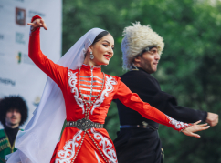 A festival of Abkhaz culture was held in the center of Moscow