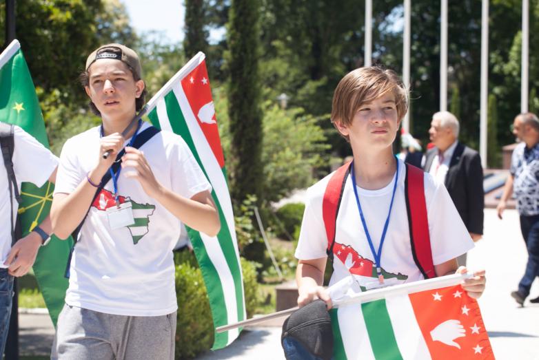 70 طفلا من تركيا والأردن يقضون إجازتهم في أبخازيا