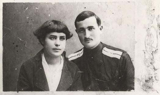 Родители сестер Марины и Елизаветы Эшба - Мария Щигровская и Ефрем Эшба