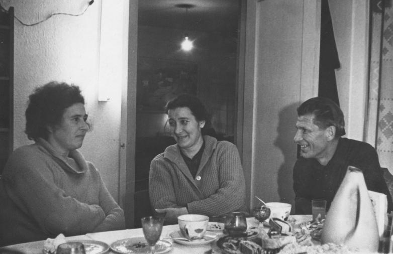 Марина Эшба в гостях у семьи Брендель
