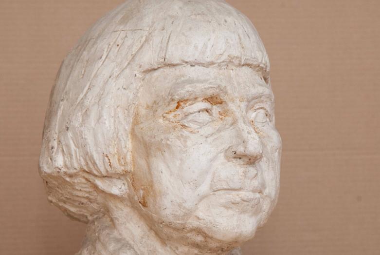 Работа Марины Эшба: портрет Варвары Бубновой
