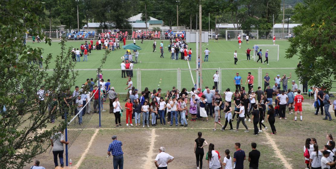 Гости и участники ежегодных игр народа Абаза