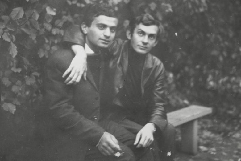 غينادي ألاميا والكاتب البولندي تسيرويفسكي