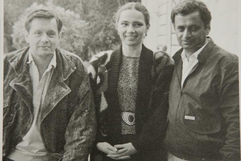 فلاديمير إريمينكو،مترجم أشعار غينادي ألاميا، زوجة غينادي ألاميا مانانا، غينادي ألاميا