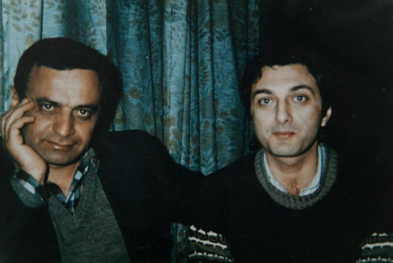 Gennady Alamiya and the hero of Abkhazia (posthumously) Adgur Inal-ipa