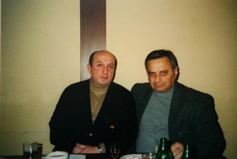 Gennady Alamiya and Denis Chachkhalia, Moscow, March 1998