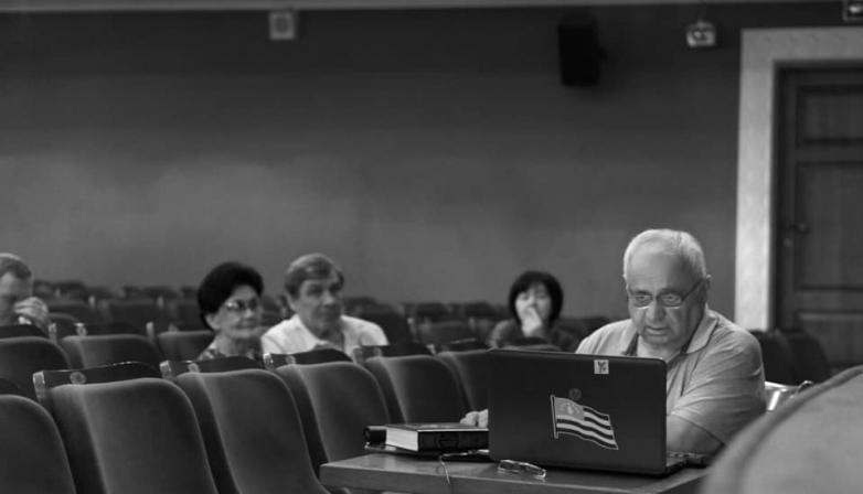 Геннадий Аламиа представляет перевод трагедии Шекспира «Ромео и Джульетта» на абхазском языке в Абхазском Государственном Драматическом театре имени Самсона Чанба