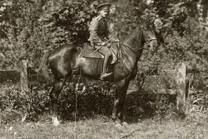 قائد الأبخاز المئة الكورنيت كونستانتين لاكربا، عام 1916