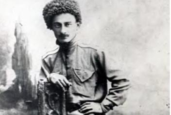 الكورنيت كونستانتين لاكرباي، عام 1916