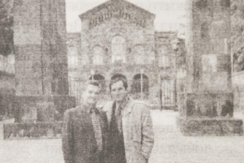 Тарас и Сергей Шамба, Эчмиадзин, 1998 год