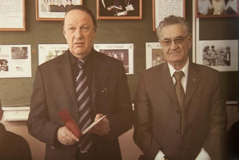 Алеко Гварамия и Тарас Шамба, 2009 год