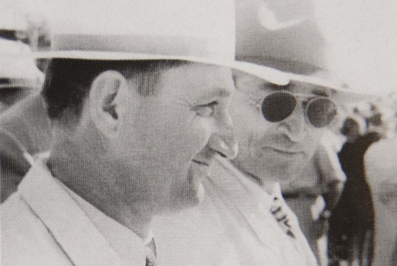 Мирон Шамба и Аслан Отырба, заместитель Председателя Совета министров Абхазии