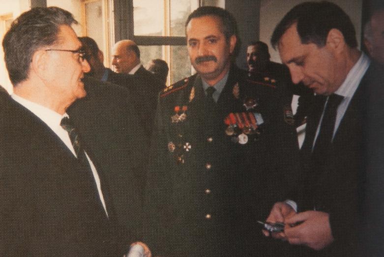 Тарас Шамба, Владимир Аршба, Сергей Шамба