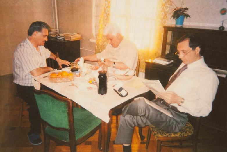 Тарас Миронович Шамба, Олег Багратович Шамба и Сергей Миронович Шамба